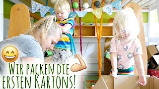Wir räumen das Kinderzimmer aus! | Die Umzugsvorbereitungen beginnen | Familienvlog #72
