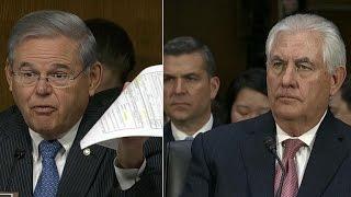 Senate grills Secretary of State pick Rex Tillerson