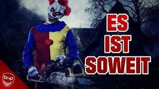 ES ist soweit! Die Nacht der Killer-Clowns erwartet uns!