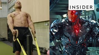 How Ray Fisher Got in Shape as Cyborg in