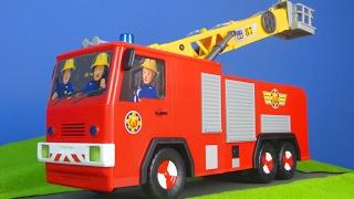 FEUERWEHRMANN SAM deutsch für Kinder: Neue Jupiter Feuerwehrauto Auswahl für Feuerwehrmann Sam