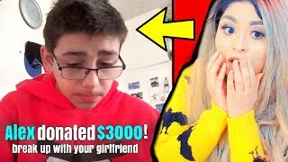 He Broke Up with His Girlfriend ON A LIVE STREAM!