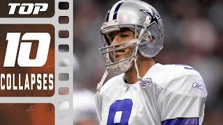 Top 10 Worst Single-Season Collapses! | NFL Films