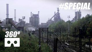 Verlaten Staalfabriek in VR