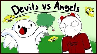 Devils Vs Angels Two w/ TheOdd1sOut