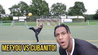 HEFTIGE VOLLEY FUSSBALL CHALLENGE VS MEFYOU!!