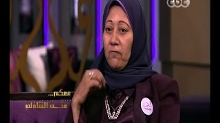 #معكم_منى_الشاذلي | شاهد…مريضة سرطان تحكي قصتها في التغلب عليه ومساعدة زوجها لها