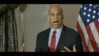 Video of Corey Booker praising Jeff Sessions then turning on him at confirmation hearing