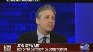 Jon Stewart vs. Bill O