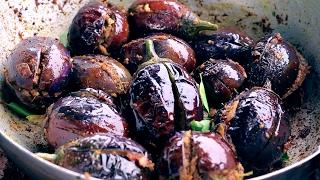 Brinjal Fry Recipe || Stuffed Baingan Fry || Gutti Vankaya Recipe BY My Grandma
