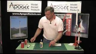 Make a model rocket payload bay