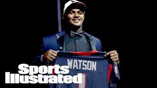Texans Trade Up To Draft Deshaun Watson At No. 12 | NFL Draft | Sports Illustrated
