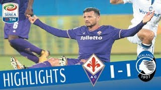 Fiorentina - Atalanta - 1-1- Highlights - Serie A TIM 2017/18