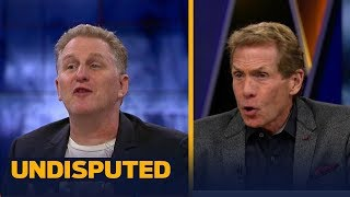 Michael Rapaport and Skip Bayless get into it after Mayweather