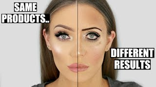 Same Products... COMPLETELY Different Results! Makeup Dos and Don