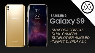 Samsung Galaxy S9 Details LEAKED.