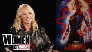 Nancy Wilson of the band Heart talks Marvel Studios' 'Captain Marvel'   Women of Marvel