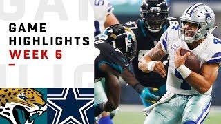 Jaguars vs. Cowboys Week 6 Highlights   NFL 2018