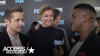 Matt Czuchry & Emily VanCamp Talk Research For Fox Medical Drama