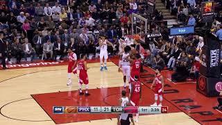 2nd Quarter, One Box Video: Toronto Raptors vs. Phoenix Suns