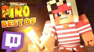 BEST OF Minecraft PIRO LIVE! | ungespielt