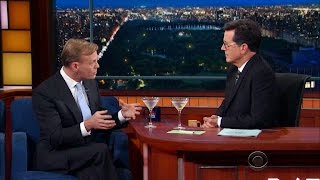 """John Dickerson and Stephen Colbert on 2016, """"Whistlestop"""" and more"""