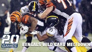 #7: Steelers vs. Bengals (Mic