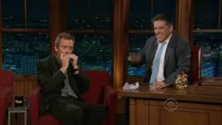 Hugh Laurie Wins Craig Ferguson Mouth Organ