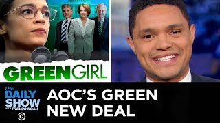 Conservatives Slam Alexandria Ocasio-Cortez's Green New Deal | The Daily Show