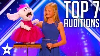 The Best Top 7 AMAZING Auditions | America