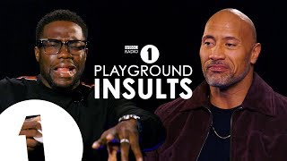 Dwayne Johnson and Kevin Hart Insult Each Other | CONTAINS STRONG LANGUAGE!