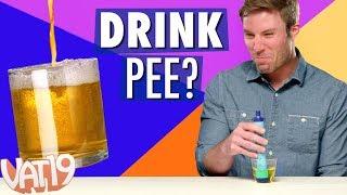 LIFESTRAW CHALLENGE: Drinking Pee, Backwash & More!