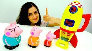 #PeppaPig Deutsch: Familie Wutz kauft eine Rakete! 🚀 Peppa Wutz Videos 👶 #Kinderserie