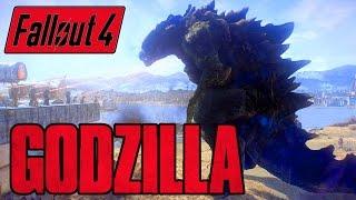 Fallout 4 - GODZILLA BOSS! - Kaiju of the Commonwealth - Xbox & PC Mod