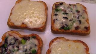 Easy Bread Pizza - Pakistani/Indian Cooking with Atiya