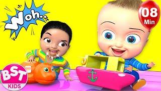 Baby Surprise family Song   Nursery Rhyme & Kids Songs