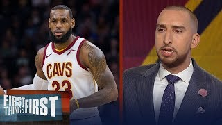 Nick and Cris talk Stephen Curry for MVP, reveal concerns about LeBron and Cavs | FIRST THINGS FIRST