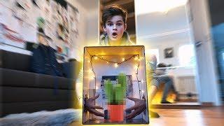 Was ist in der Box? CHALLENGE 😳 | Oskar