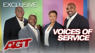 Voices of Service Speaks On The Importance of Music - America's Got Talent 2019