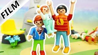 Playmobil Film Deutsch - BABY VERKLOPPT ZU GROßES KIND! EMMA GEGEN DEN GROßEN JULIAN! Familie Vogel