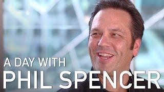 A Day with Phil Spencer - Head of Xbox