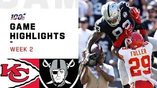 Chiefs vs. Raiders Week 2 Highlights | NFL 2019