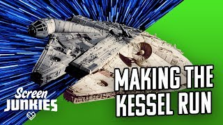 Star Wars VFX Breakdown - Making The Kessel Run