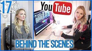 BEHIND THE SCENES YOUTUBE VIDEO DREH & SCHNITT - Vlogmas Tag 17 - Kathi2go