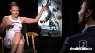 Funny Insurgent Interviews of Theo James