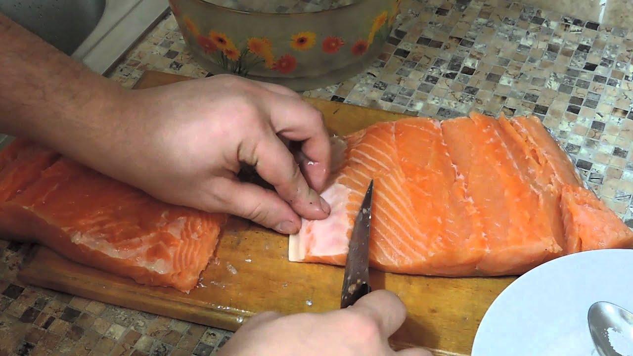 Как солить лосось в домашних условиях рецепт