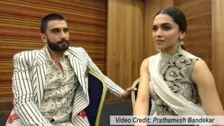 Deepika Padukone speaks about Ranveer Singh