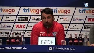 Die Pressekonferenz vor der Partie VfL Bochum 1848 - 1 FC Heidenheim