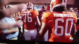 Clemson Louisville 2016 best entrance in college football