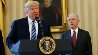 Trump vs Sessions: Trump loyalist in WH doghouse